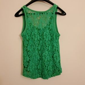 Casual Lace-back Tank